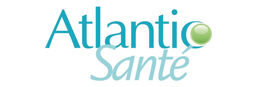 Visuel Partenaire - Logo Atlantic Santé
